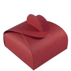Wine Red Chocolate Designer Favour Boxes